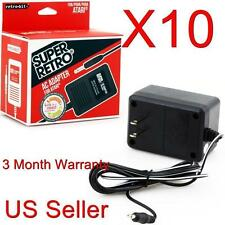 10 LOT AC Power Supply Adapter Plug Cord for the Atari 2600 System Console New