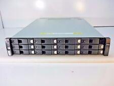 Dell Compellent Hb-1235 12-Slot Lff Storage Array w/ 11x 450Gb 15K Sas 2x Cont