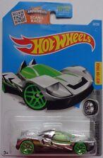 2016 Hot Wheels SUPER CHROMES 1/10 Teegray 36/250 (Chrome Version)