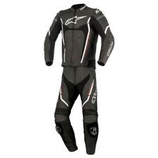 Tute in pelle e altri tessuti neri Alpinestars per motociclista Taglia 58