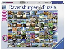 Ravensburger 99 Beautiful Places on Earth Jigsaw Puzzle (1000-Piece) , New, Free
