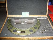 """Micrómetro Mitutoyo 'combinación' Set No:104-151 8-12"""" (.001"""") de 1923"""