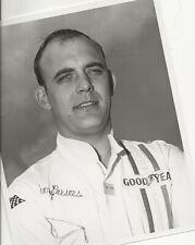VINTAGE 8X10 BLACK & WHITE ARCA RACING PHOTO BENNY PARSONS DAYTONA NASCAR USAC