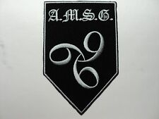 A.M.S.G.  EMBROIDERED PATCH