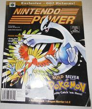 Nintendo Power Magazine Gold Version Pokemon Silver Stadium Vol.136 083014R