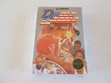 Double Dribble (Nintendo, 1987). Complete in Box. CIB. NES. Konami.