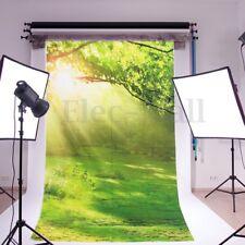 3x5ft Meadow Sunshine Photography Background Vinyl Photo Studio Props Backdrops