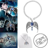 Harry Potter Ravenclaw Lost Diadem Horcrux Tiara Crown Pendant Necklace UK SELLE