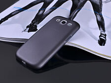 Hot Translucent Slim Matte Frost Soft PC Case Cover For Samsung Galaxy S3 I9300