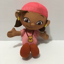 fisher price talking jake and the neverland pirates girl izzy plush doll 10''