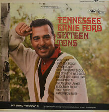 TENESSEE ERNIE FORD - SIXTEEN TONS - CAPITOL  DT 1380 STEREO LP  (X372)