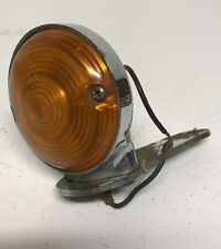 Vintage 1950's 1960's Original GUIDE DP 62 12 volt Motorcycle Front Turn Signal