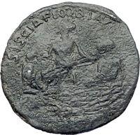 PROBUS 277AD  Rare SISCIA & RIVER GODS  Authentic Ancient Roman Coin i73217