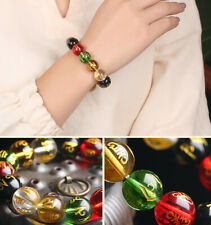 Glass Spirit Good Luck Jewelry New Unisex Five Elements Transfer Bracelet Beads
