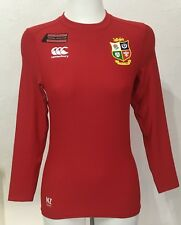 BRITISH AND IRISH LIONS 2017 RED BASELAYER BY CANTERBURY SIZE ADULTS SMALL NEW