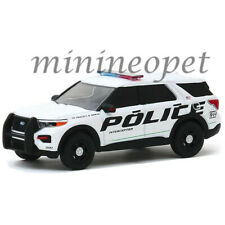 GREENLIGHT 42910 F 2020 FORD POLICE INTERCEPTOR UTILITY SHOW VEHICLE 1/64 WHITE