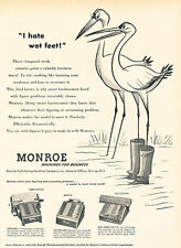 1951 Monroe Machine Accounting Business Vintage Advertisement Print Ad J518