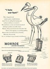1951 Monroe Machine Accounting Business Vintage Advertisement Print Ad J518