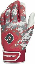 New DeMarini Digi Camo II Adult Batting Gloves Red/Camo XX-Large
