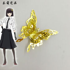 US Ship Bungo Stray Dogs Akiko Yosano Butterfly Hair Clip Ornaments Cosplay Prop