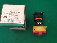 TO-21-1/V/SVB  Moeller  Rotary Switch Isolator  20 Amp 3 Pole