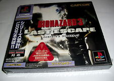 "PSX Playstation Survival Horror ""CAPCOM"": BIOHAZARD 3 -Last Escape- Japan"