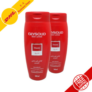 Glysolid Body Lotion Perfect Glycerin Moisturizer for Full Body 2x200 ml each