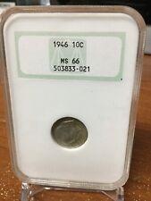 1946 10c Dime NGC MS 66 !!!!