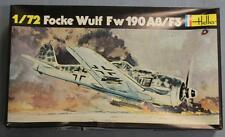 Heller 235 Focke Wulf Fw 190 A8/F3 Plastic Model Kit Lnib 1/72 Scale