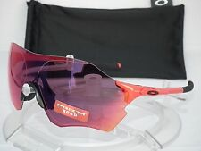 NEW OAKLEY EVZERO RANGE SUNGLASSES OO9327-04 Infrared Red / Prizm Road EV ZERO 0