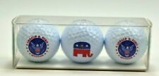 President Gerald R Ford 3 pack of Facsimile Signed golf balls