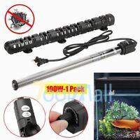 100W Adjustable Aquarium Heater Anti-Explosion Submersible Fish Tank with Guard