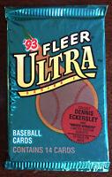 1993 Fleer Ultra Series 1 Baseball Card Pack