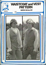 Eagle View - Re-enactment Man's WaistCoat & Vest Pattern - Sizes 36-50