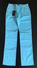 Bnwt Armani Jeans W31 L34 Aqua Marine Colour With Silver Bead Design Regular Fit
