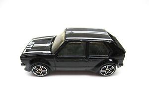 MAISTO BLACK VW GOLF GTI