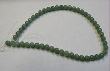 Natural Verde Jade 16IN filamento de piedras preciosas perlas de 50 8MM 150CT Redondo Gema