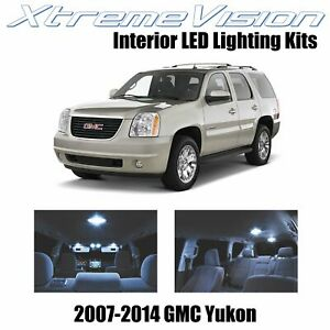 XtremeVision Interior LED for GMC Yukon 2007 - 2014 (12 PCS) Cool White