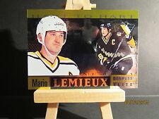 1996-97 Donruss Elite Hart to Hart #ML6 Mario Lemieux SN 1107/1996