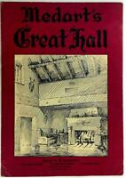 1950's Original Menu MEDART'S GREAT HALL Restaurant St. Louis Missouri