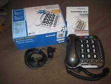GEEMARC ClearSound AmpliPOWER40 40dB Multifunktion Senioren Telefon anthrazit