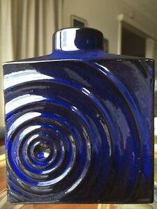 West German Pottery Zyclon Range Vintage Mid Century Vase design by Cari Zalloni