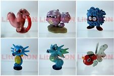 B#108] 6x Pokemon Figures 4-5cm: Lickitung Weezing Tangela Horsea Seadra Seaking