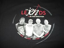 The Le Jen Ds of Jazz Education (Lg) T-Shirt Baker Haerle Coker Aebersold