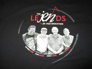 The Le Jen Ds of Jazz Education (Lg) T-Shirt Baker Haerle Coker Aebersold