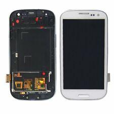 Für Samsung Galaxy S4 i9505 LCD Display Touchscreen Glas Rahmen Weiß White