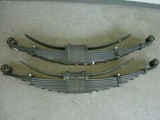 17 Ford F450 Super Duty oem rear leaf springs