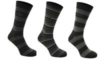 Giorgio Formal 3 Pack Striped Socks Adult Mens  UK 7-11   A142-6