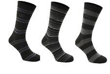 Giorgio Formal 3 Pack Striped Socks Adult Mens  UK 7-11   A142-6