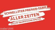 Vodafone CallYa Smartphone Special Prepaid Sim-Karte✔inkl. LTE 4G 1,25 GB✔